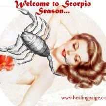 Welcome To Scorpio Season…